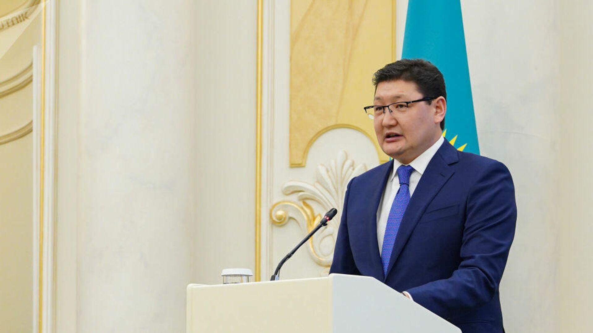Пресс-секретарь президента Казахстана Берик Уали - РИА Новости, 1920, 07.09.2021