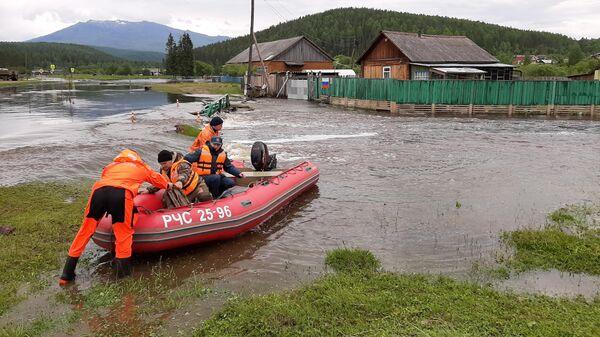 Подтопления в Красноярском крае