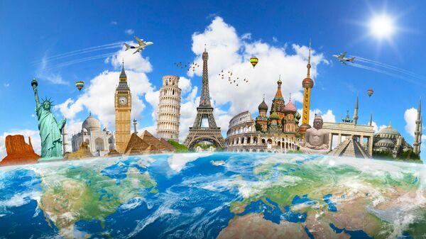 Знаменитые достопримечательности мира