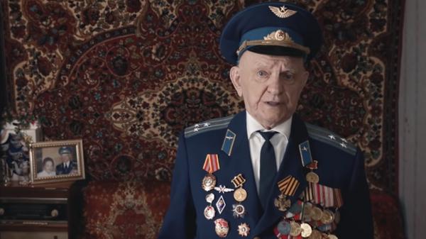 Ветеран Великой Отечественной войны Игнат Артеменко
