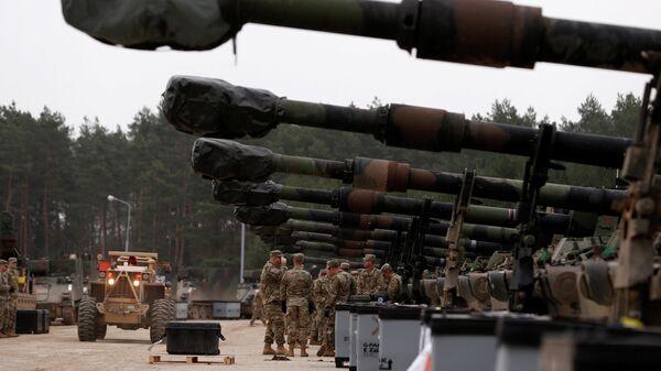 Американские военные на учениях в Польше. Март 2019