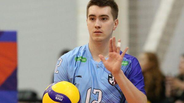 Волейболист Сергей Мелкозеров
