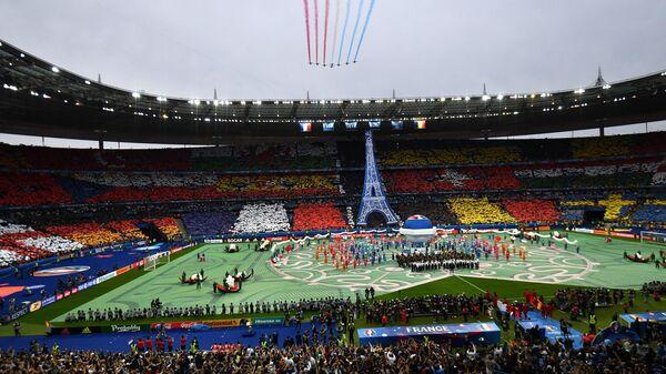 Футбол. Чемпионат Европы - 2016. Матч Франция - Румыния
