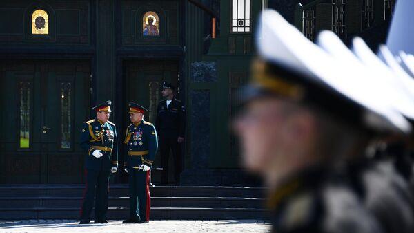 Освящение главного храма Вооруженных сил РФ в парке Патриот