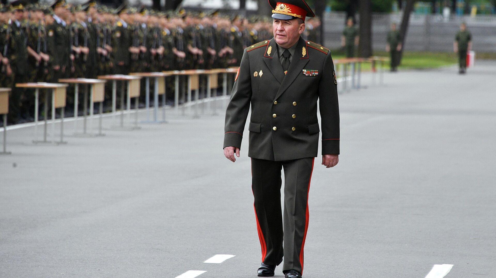 Министр обороны Республики Беларусь Виктор Хренин - РИА Новости, 1920, 23.06.2021