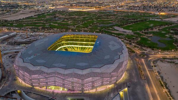 Третий по счету стадион к чемпионату мира по футболу в Катаре