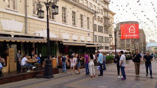 Открытие летних веранд в Москве: Камергерский переулок