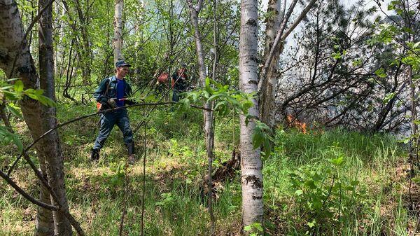 Сотрудники Камчатского спасцентра отправились в Быстринский район на борьбу с лесными пожарами