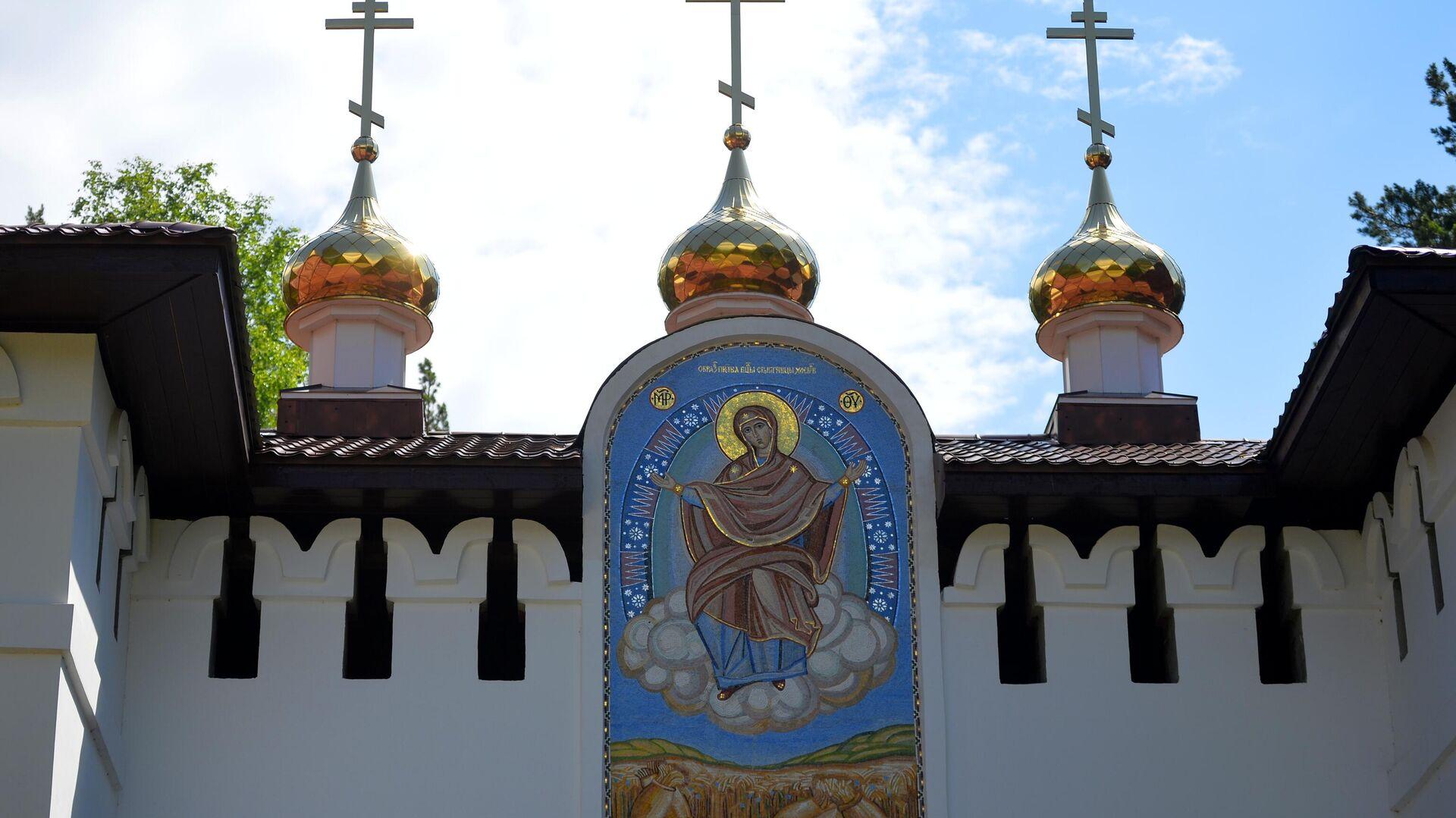 Среднеуральский женский монастырь в Свердловской области - РИА Новости, 1920, 04.07.2020