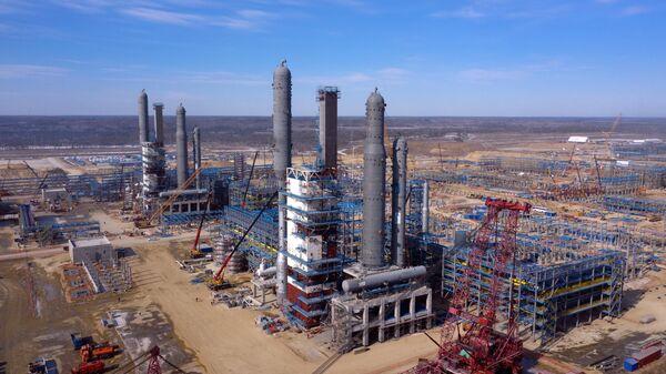 Строительство Амурского газоперерабатывающего завода