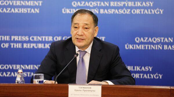 Заместитель премьера Казахстана Ералы Тугжанов