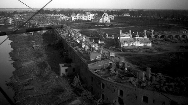 Брестская крепость в день освобождения. 28 июля 1944 г.
