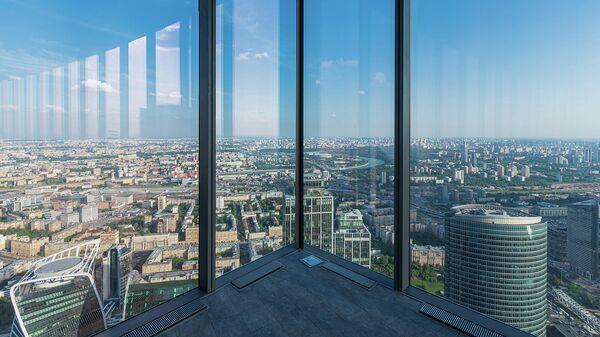 90-й этаж башни Восток делового комплекса Федерация