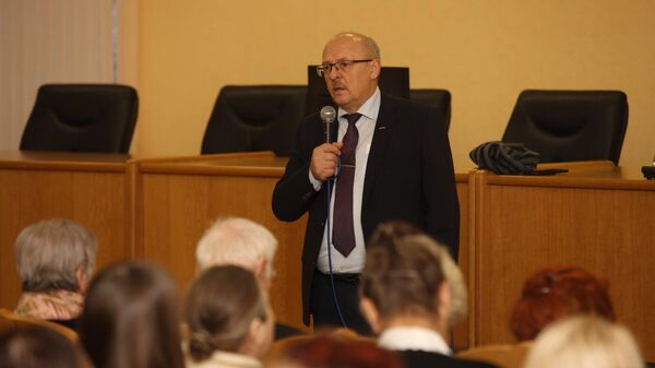 Председатель Комитета по социальной политике Санкт-Петербурга Александр Ржаненков