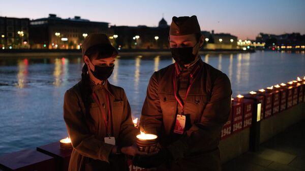 Акция Линия памяти в Москве