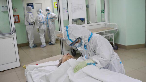 Госпиталь COVID-19 в ГКБ №15 имени О. М. Филатова
