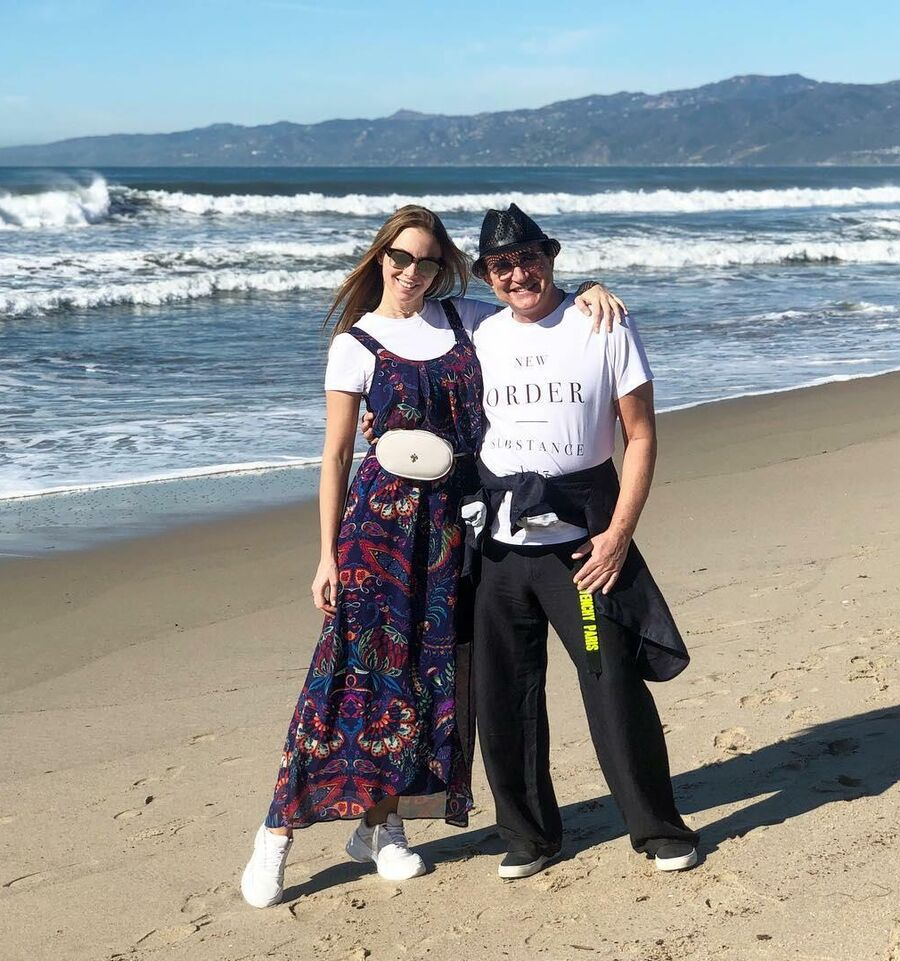 Дмитрий Дибров с супругой