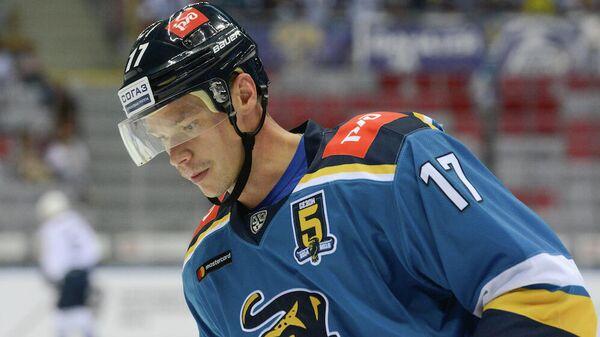 Нападающий хоккейного клуба Сочи Кирилл Капустин