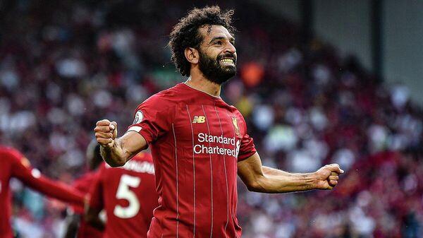 Нападающий Ливерпуля и сборной Египта по футболу Мохаммед Салах