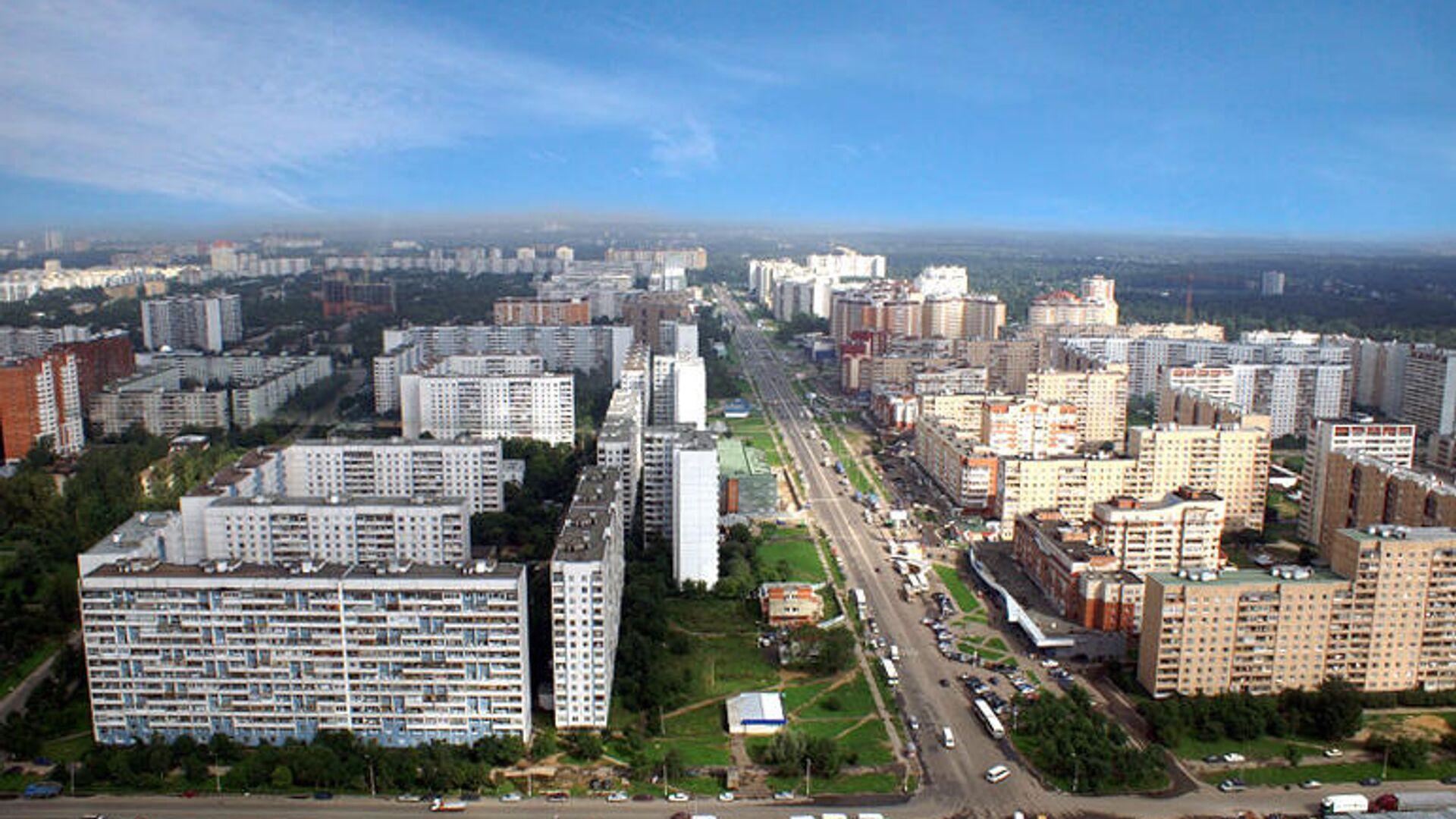 Город Королев, Московская область - РИА Новости, 1920, 11.10.2021