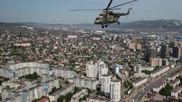 Репетиция парада Победы в городах России