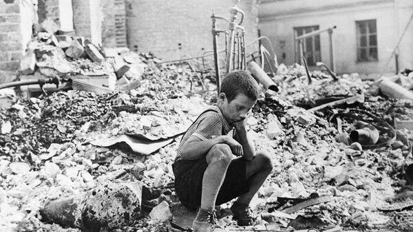 Маленькие герои большой войны. Володя Бебех