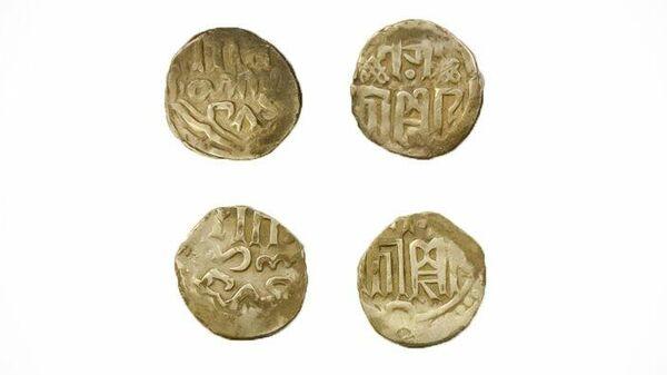 Монеты Золотой Орды, найденные в новой Москве