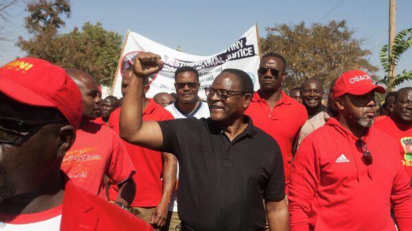 Лидер оппозиционной Партии конгресса Малави Лазарус Чаквера