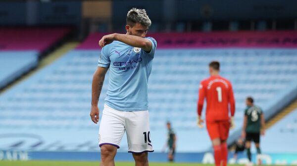 Нападающий Манчестер Сити и сборной Аргентины по футболу Серхио Агуэро
