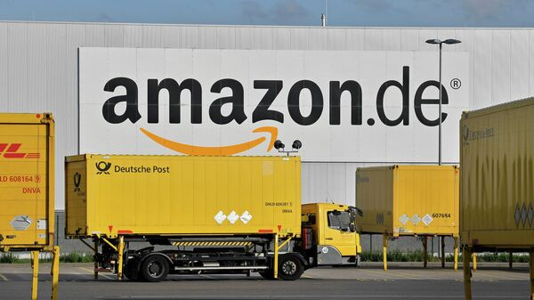 Логистический центр компании Amazon в Райнберге, Германия
