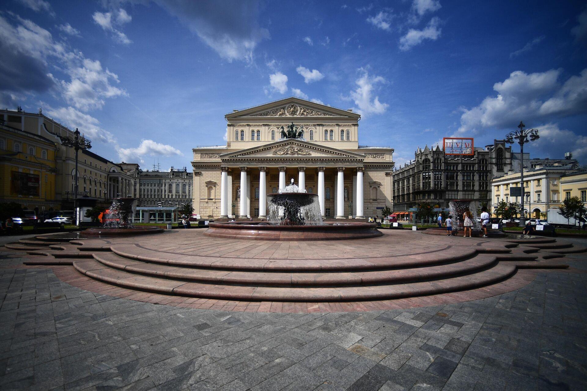 Фонтан Витали на Театральной площади - РИА Новости, 1920, 24.05.2021