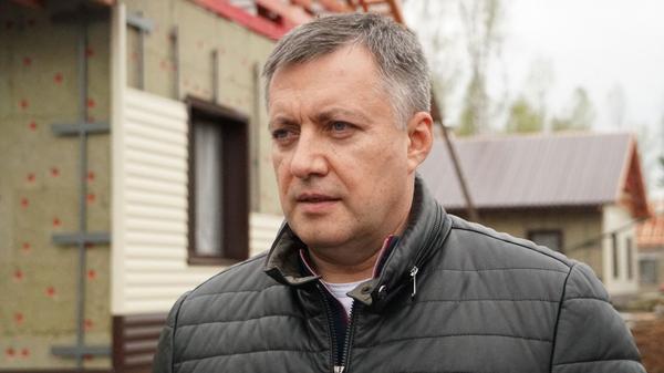 Врио губернатора Иркутской области Игорь Кобзев