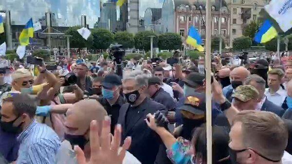 Порошенко прибыл в суд на избрание меры пресечения