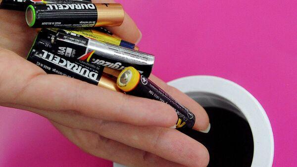 Сбор батареек для последующей утилизации