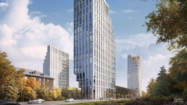 Жилой проект на месте гостиницы Останкино на северо-востоке Москвы
