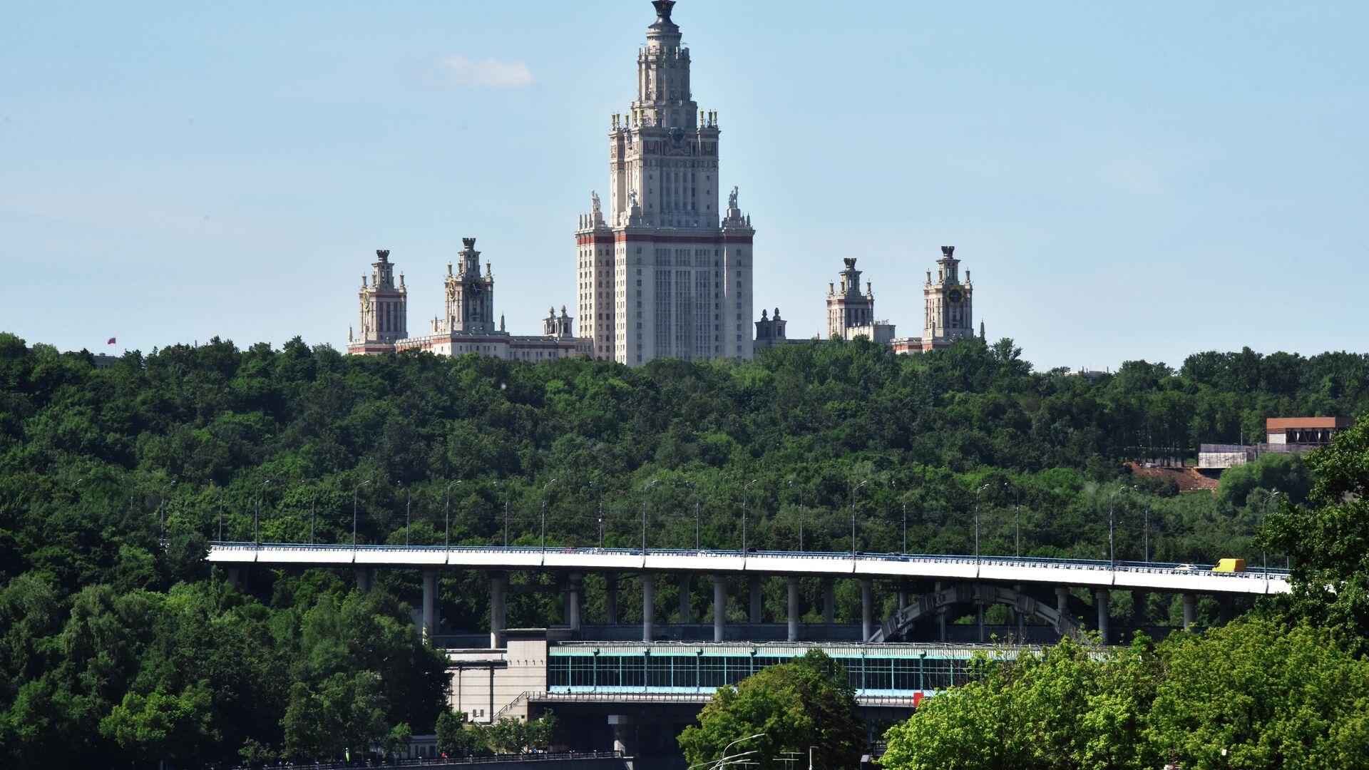 Мост Лужники через Москву-реку - РИА Новости, 1920, 23.07.2021