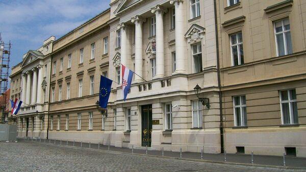 Здание Парламента Хорватии на Площади Святого Марка