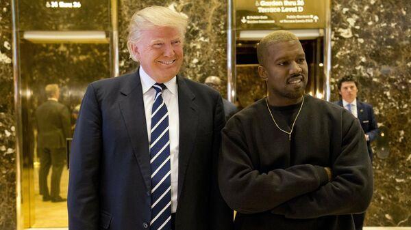 Политика в стиле рэп. Канье Уэст выступит на разогреве у Трампа