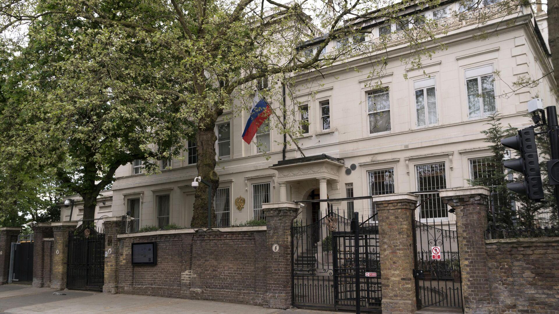 Главное здание посольства России в Великобритании на Kensington Palace Gardens в Лондоне - РИА Новости, 1920, 10.10.2021