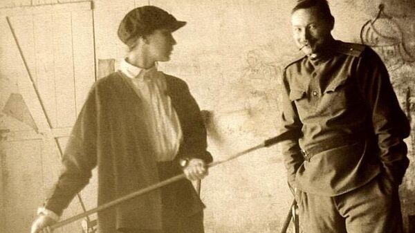 Наталья Гончарова и Михаил Ларионов, 1913 год
