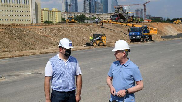 Строительство южного дублера Кутузовского проспекта