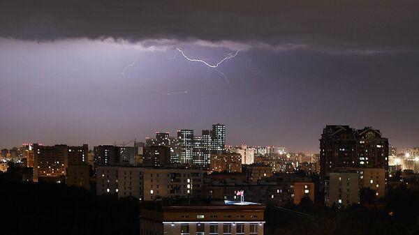В Москве ожидается ураган