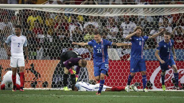 Футбол. Чемпионат Европы - 2016. Матч Англия - Исландия