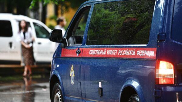 Автомобиль Следственного комитета РФ
