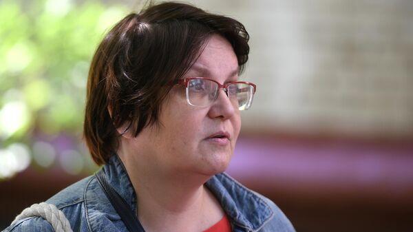 Московский муниципальный депутат Юлия Галямина, в квартире которой проходит обыск