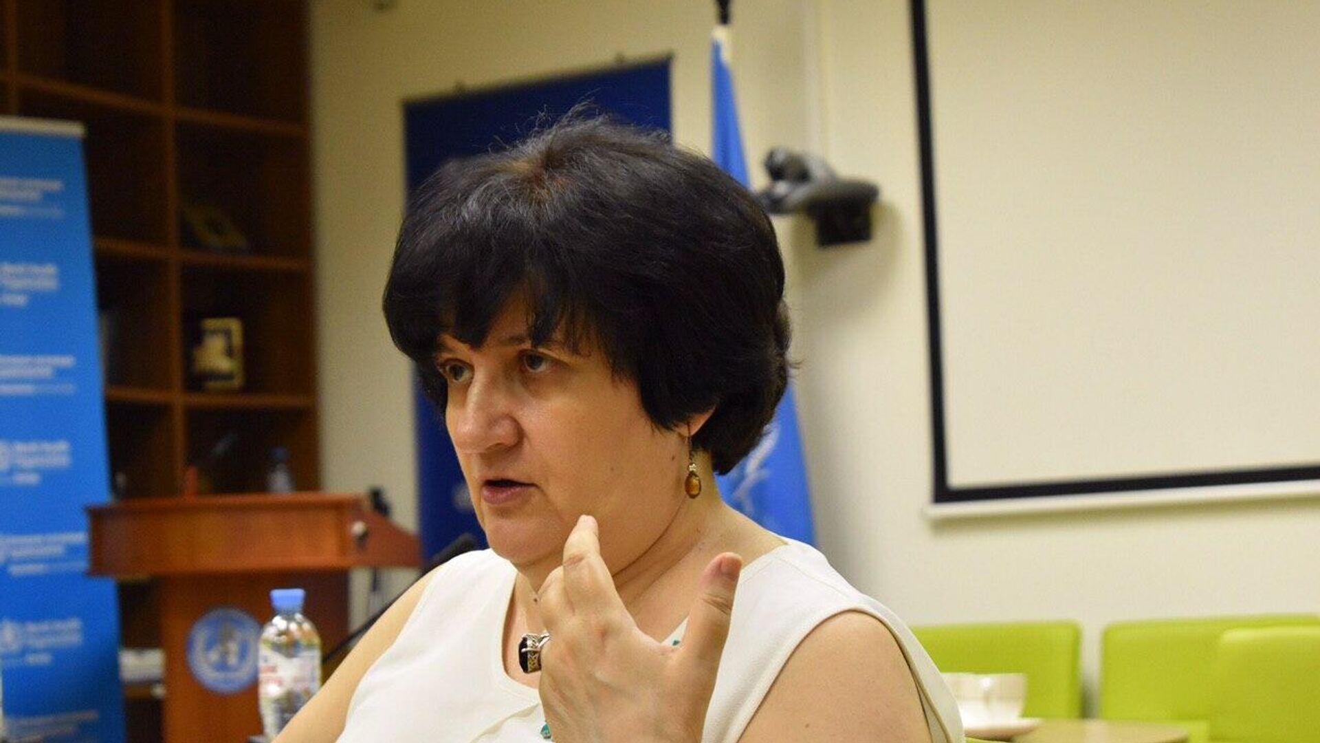 Представитель Всемирной организации здравоохранения в России Мелита Вуйнович - РИА Новости, 1920, 21.12.2020