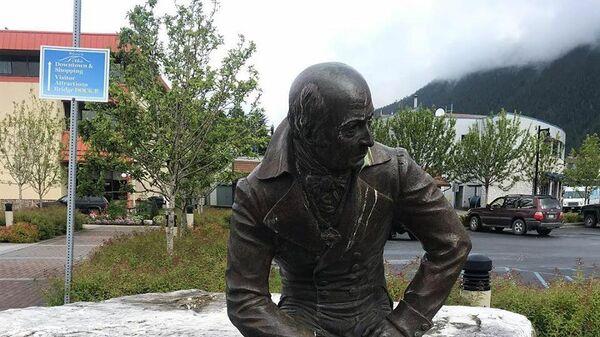 Памятник Александру Баранову в Ситке, Аляска