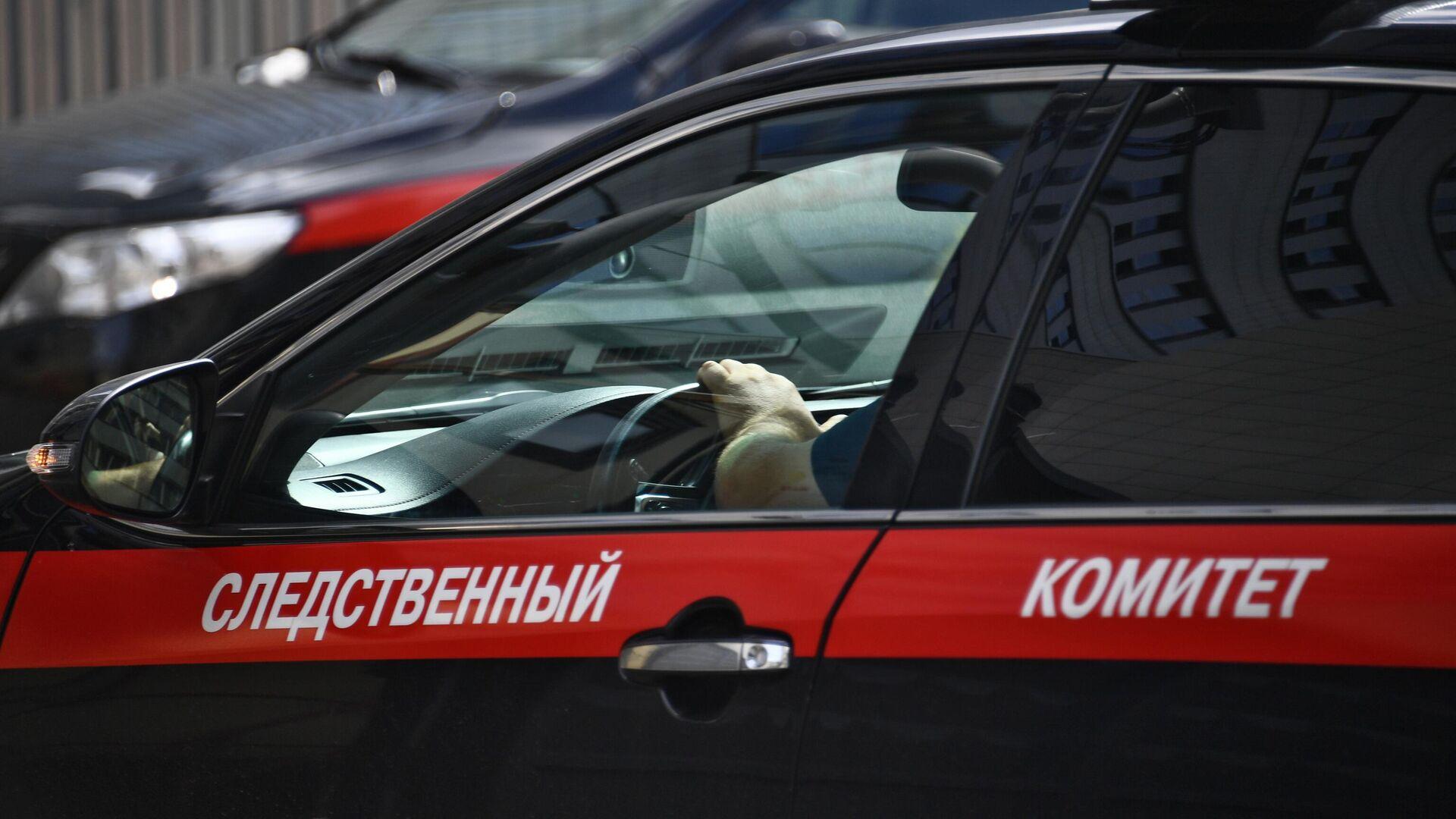 Автомобиль Следственного комитета РФ - РИА Новости, 1920, 11.12.2020