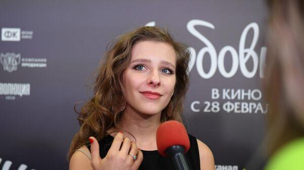 Актриса Елизавета Арзамасова