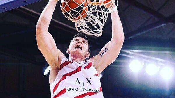 Литовский баскетболист Артурас Гудайтис